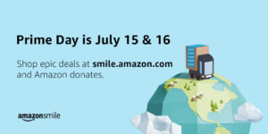 Support JLSF Junior League on Amazon Prime Day. Visit Smile.Amazon.com On Amazon Prime Day July 15 & 16. Amazon will donate 0.5% of your purchase to the Junior League of San Francisco (JLSF).